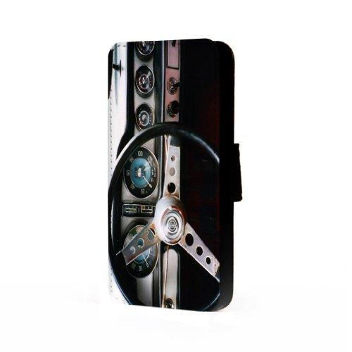 Retro Dashboard - Samsung Galaxy S4 Trifold Wallet Case