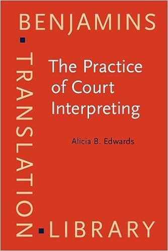 The Practice of Court Interpreting (Benjamins Translation Library ...