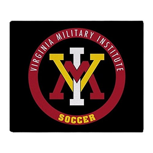 CafePress VMI Virginia Military Institute Cadets Soccer Soft Fleece Throw Blanket, 50
