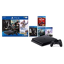 Holiday Ultimate Bundle Playstation 4 1TB Slim w/bonus Marvel's Spider-Man: Game of The Year Edition
