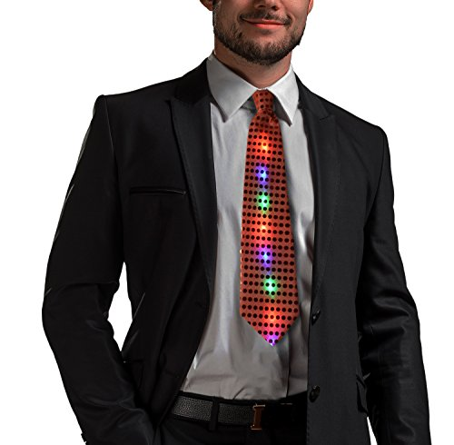 Led Light Up Neckties in US - 2