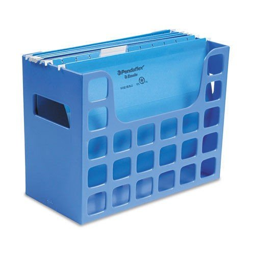 ChatAngle(TM) DecoFlex Letter Size Desktop Hanging File, Plastic, 12 1/4 x 6 x 9 1/2, Blue (Decoflex Hanging)