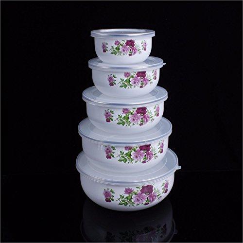 Rose Oval Vegetable Bowl - 9
