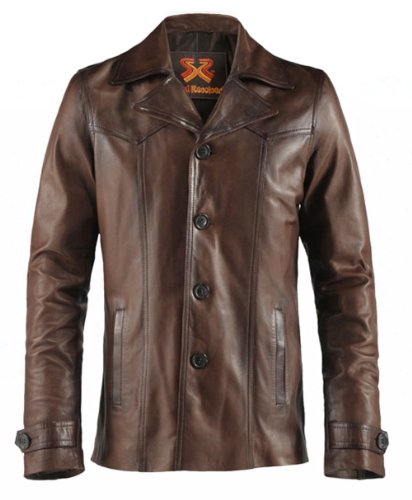 70s Brown Leather - 5