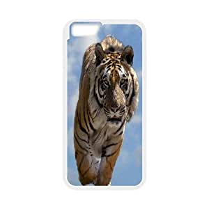 JenneySt Phone CaseAnimal Tiger For Apple Iphone 6 Plus 5.5 inch screen Cases -CASE-6