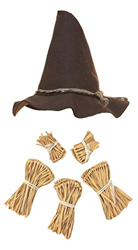Nicky Bigs Novelties Scarecrow Costume Kit,Brown,One Size -
