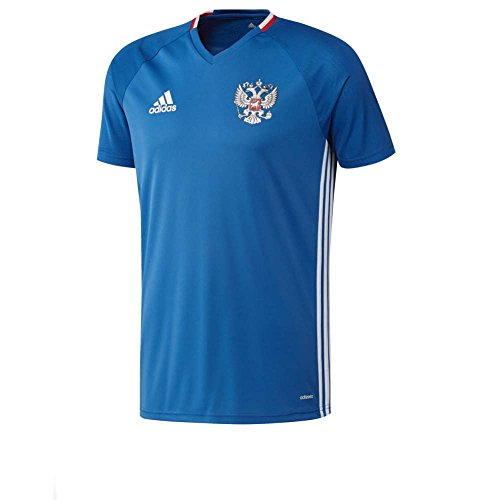 Adidas-Camiseta de entrenamiento Rusia Euro de 2016, color azul - azul