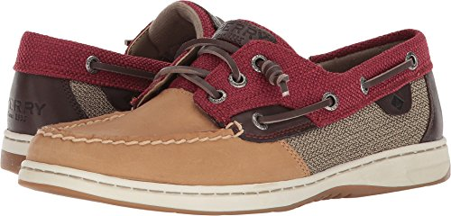Textured Fish (Sperry Women's Rose Fish Textured Linen/Rose 7.5 M US)