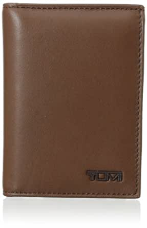 Tumi Men's Delta L-Fold ID, Saddle, One Size