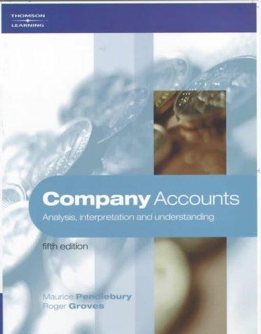 Company Accounts: Analysis, Interpretation and Understanding