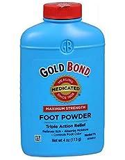 Gold Bond Foot Powder Medicated 4 Oz (4 Pack)