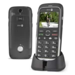 Doro PhoneEasy 520X 95g Negro - Teléfono móvil (SIM única, Despertador, calculadora, calendario, Recordatorio de eventos, Ión de litio, 3G, GSM, Polifónico, 220 x 176 Pixeles)