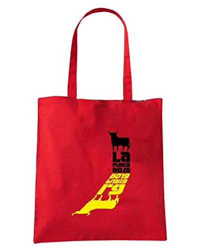 WC0565 SPAIN Speed LA Shopper ROJA FURIA Rossa Shirt Borsa 6HxwqTSI