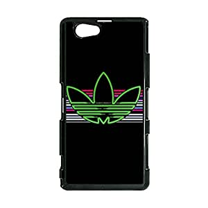 Adidas Cell Phone Case Creative Design the Logo of Adidas Durable Cover Case for Sony Xperia Z1 Mini