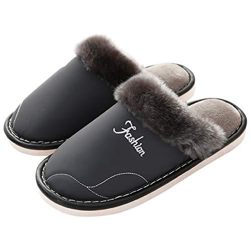 Aptas 42 41 43 Lianaio Algodon Adecuado Para 40 Zapatillas Remolque Abrigo Simples Interiores Antideslizantes De Y Casa Confortables Algodón Correas Modelos nnw6qxRAa