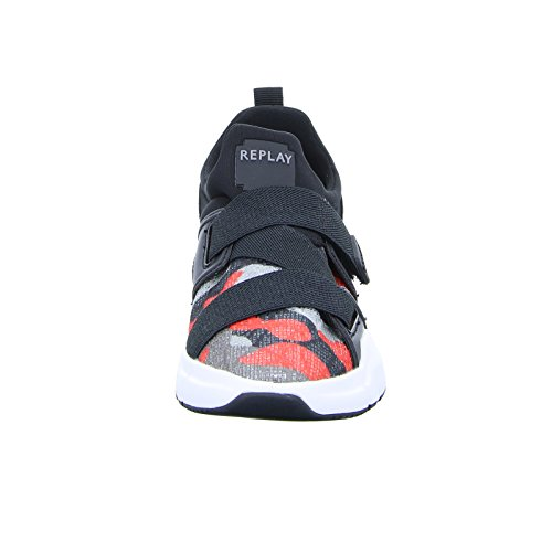Replay Marvile Damen Sneaker Low Slipper Running shoe Camo Red