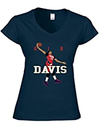 Navy New Orleans Davis AIR PIC Ladies V-Neck