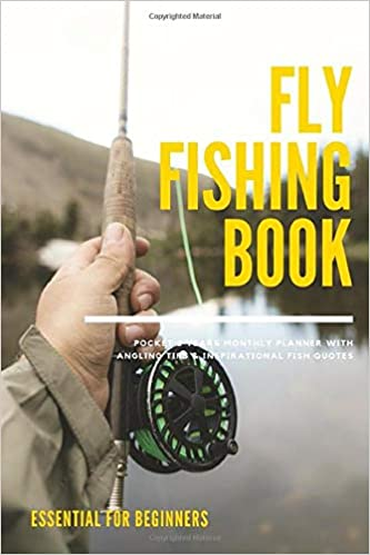 Fly Fishing Book Pocket 2 Years Monthly Planner With Angling ...