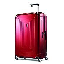 Samsonite Neopulse 30-Inch Spinner, Metallic Red, Checked – Large