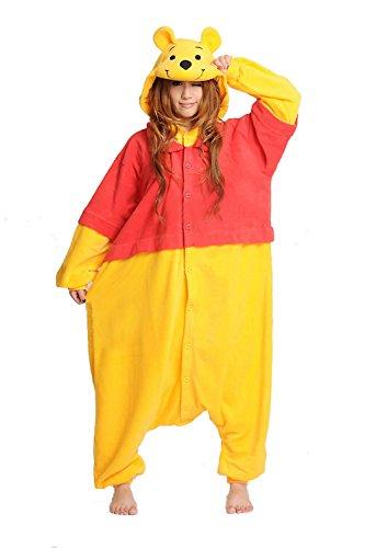 - Winnie Onesie Adult. Winnie Costume Kigurumi Pajama for Women Men and Teens.S