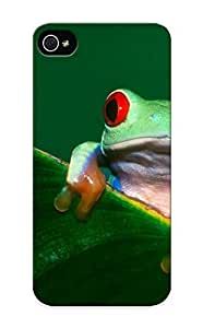 New Snap-on Resignmjwj Skin Case CoverCase For HTC One M8 Cover - Women Frogs Redeyed Tree Frog Amphibians