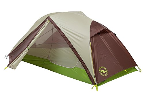 Big Agnes Unisex Rattlesnake SL 1 Person mtnGLO Tent Gray/Plum Tent One Size