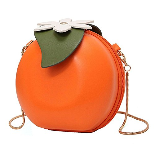Fruit forme cuir de main main Orange embrayage Cross sac femmes en SODIAL Pu en a sac a tPdwt