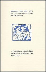 Journal des Iles par Victor Segalen