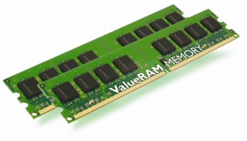 Kingston ValueRAM 4GB 800MHz DDR2 Non-ECC CL6 DIMM (Kit of 2)  Desktop Memory