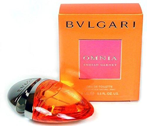 Bvlgari Omnia Indian Garnet By Bvlgari (Half Ounce) 15ml /0.50 Fl.oz Eau De Toilette Deluxe Travel Spray ()