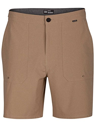 Hurley Men's Phantom Coastline 18 in Walkshorts, Khaki (235), 34 ()
