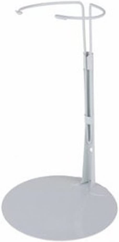 """Kaiser Doll Stand 2701 White Doll Stand for 12/"""" to 17/"""" chubby-waisted D.. New"""