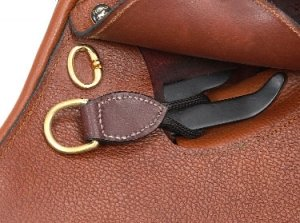 D-ring Saver (Saddle D Ring Saver Leather)