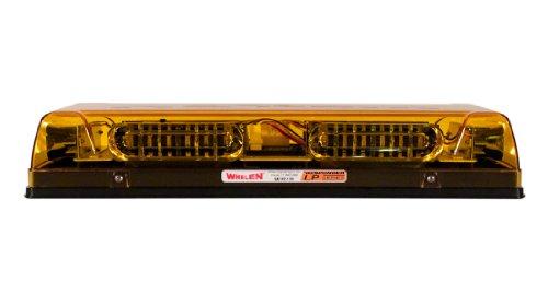 - Whelen Engineering Responder LP Series Mini Lightbar, Permanent Mount - Amber