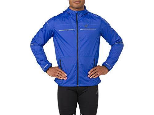 ASICS Men's Lite-Show Jacket Running Clothes, M, Illusion - Asics Mens Jacket