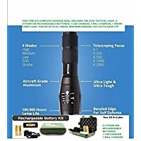 NN2D TACTICAL G700 LED FLASHLIGHT:AUTHENTIC NEW MILITARY PROFESSIONAL GRADE SERIES...NOT YET SOLD IN STORES, AVAILABLE HERE FOR SALE IN LIMITED SUPPLY by NN2D G700 (A US WESUPPLY Product)