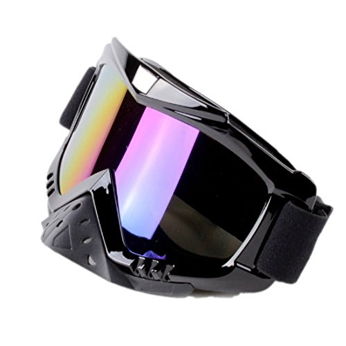 f9a23dfba3b Amazon.com  Colorful Adult Motorcycle Off-Road Dirt Bike Street Bike  ATV UTV Cruiser Adventure Touring Snowmobile Goggles Mask  Industrial    Scientific