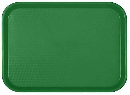Green Fast Food Tray - 6