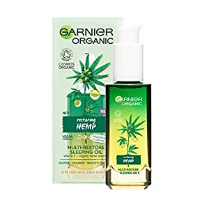 Garnier Organic Hemp Multi-Restore Night Sleeping ...