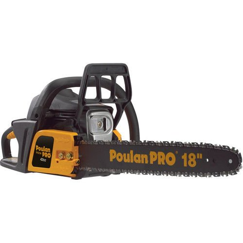 Poulan Pro 967185102 PP4218A 42cc Assembled Chainsaw with Case, 18-Inch by Poulan Pro