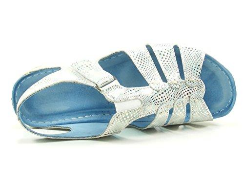 19 Gemini Donna 032006 Blau Sandali w61R56