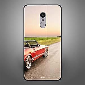 Xiaomi Redmi Note 4 Red Open Top Car