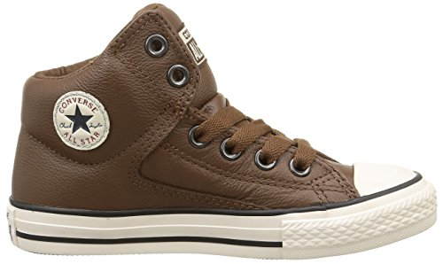 Converse Unisex-Kinder CT High Street Low-Top Braun - Braun (Schokolade)