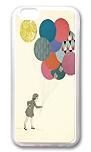 Apple Iphone 6 Case,WENJORS Awesome Party Girl Soft Case Protective Shell Cell Phone Cover For Apple Iphone 6 (4.7 Inch) - TPU Transparent