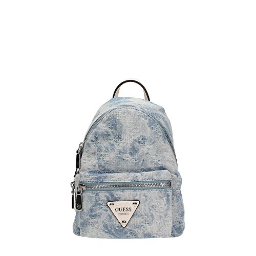 Guess, Borsa a zainetto donna Blu Blu Denim