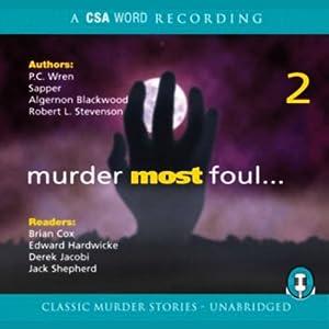 Murder Most Foul, Volume 2 Audiobook