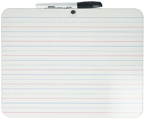 Dry Erase Lapboard Learning Board Two Sided, Double Sided, Set of 2, 9x12 by The Board Dudes