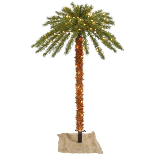 Vickerman 451625 - 6' Outdoor Palm Tree 300 Clear Lights (K169161)