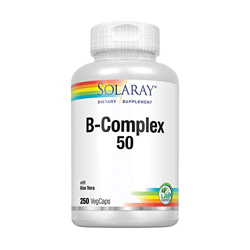 Solaray Vitamin B-Complex 50mg | 250 VegCaps