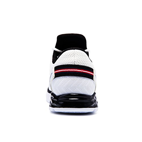 onemix Herren Mesh Laufschuhe Mens Running Shoes Sneakers White / Black